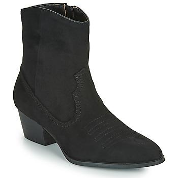 Παπούτσια Γυναίκα Μποτίνια Vanessa Wu  Black