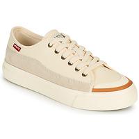 Παπούτσια Γυναίκα Χαμηλά Sneakers Levi's SQUARE LOW S Άσπρο