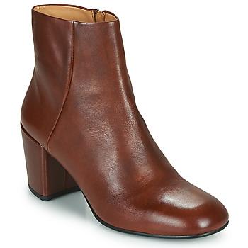 Παπούτσια Γυναίκα Μποτίνια Vagabond Shoemakers MELINA Cognac
