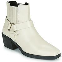 Παπούτσια Γυναίκα Μποτίνια Vagabond Shoemakers SIMONE Άσπρο
