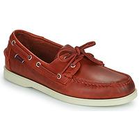Παπούτσια Άνδρας Boat shoes Sebago PORTLAND WAXED Red