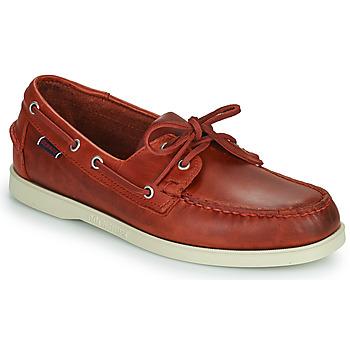 Boat shoes Sebago PORTLAND WAXED ΣΤΕΛΕΧΟΣ: Δέρμα & ΕΠΕΝΔΥΣΗ: & ΕΣ. ΣΟΛΑ: & ΕΞ. ΣΟΛΑ: Καουτσούκ