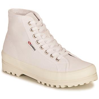 Παπούτσια Γυναίκα Ψηλά Sneakers Superga 2341 ALPINA COTU Άσπρο