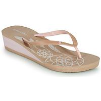 Παπούτσια Γυναίκα Σαγιονάρες Isotoner FRADA Beige