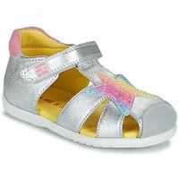 Παπούτσια Κορίτσι Σανδάλια / Πέδιλα Agatha Ruiz de la Prada HAPPY Silver