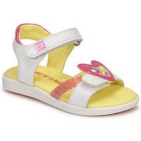 Παπούτσια Κορίτσι Σανδάλια / Πέδιλα Agatha Ruiz de la Prada AITANA Άσπρο