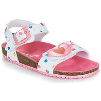 Παπούτσια Κορίτσι Σανδάλια / Πέδιλα Agatha Ruiz de la Prada BIO Άσπρο