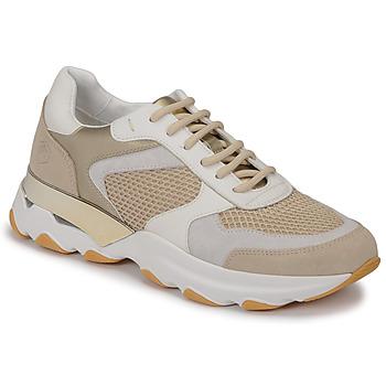 Παπούτσια Γυναίκα Χαμηλά Sneakers Lumberjack SWAY Beige / Άσπρο