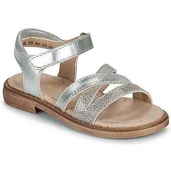 Παπούτσια Κορίτσι Σανδάλια / Πέδιλα Aster TESSIA Silver