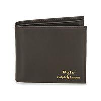 Τσάντες Άνδρας Πορτοφόλια Polo Ralph Lauren GLD FL BFC-WALLET-SMOOTH LEATHER Black
