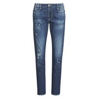 Υφασμάτινα Γυναίκα Boyfriend jeans Le Temps des Cerises 200/43 LIOR Μπλέ
