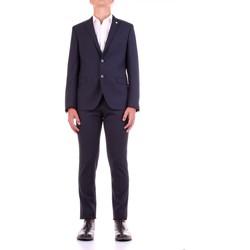 Υφασμάτινα Άνδρας Κοστούμια Manuel Ritz 2932A3318-203554 Blu