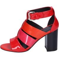 Παπούτσια Γυναίκα Σανδάλια / Πέδιλα Hogan BK646 το κόκκινο