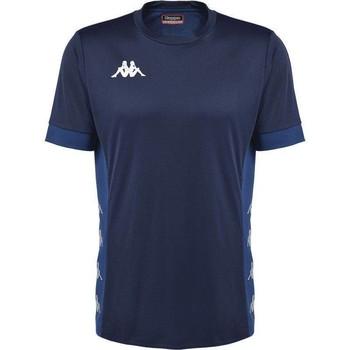 Υφασμάτινα T-shirt με κοντά μανίκια Kappa Maillot  dervio violet