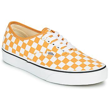 Παπούτσια Γυναίκα Χαμηλά Sneakers Vans AUTHENTIC Yellow