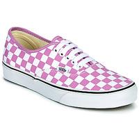 Παπούτσια Γυναίκα Χαμηλά Sneakers Vans AUTHENTIC Lilas