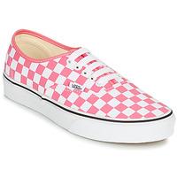 Παπούτσια Γυναίκα Χαμηλά Sneakers Vans AUTHENTIC Ροζ