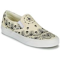 Παπούτσια Slip on Vans CLASSIC SLIP ON Beige / Black