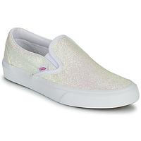 Παπούτσια Γυναίκα Slip on Vans CLASSIC SLIP ON Uv / Glitter / Beige / Ροζ