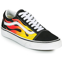 Παπούτσια Χαμηλά Sneakers Vans OLD SKOOL Black / Orange