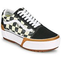 Παπούτσια Γυναίκα Χαμηλά Sneakers Vans OLD SKOOL STACKED Black / Άσπρο