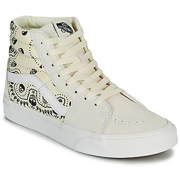 Παπούτσια Ψηλά Sneakers Vans SK8 HI Beige / Black
