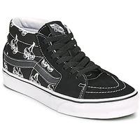 Παπούτσια Ψηλά Sneakers Vans SK8 MID Black / Άσπρο