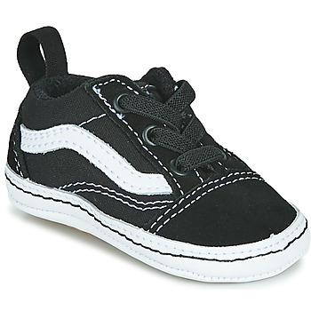 Παπούτσια Παιδί Χαμηλά Sneakers Vans OLD SKOOL CRIB Black / Άσπρο