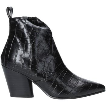 Παπούτσια Γυναίκα Μποτίνια Grace Shoes 7241007 Μαύρος