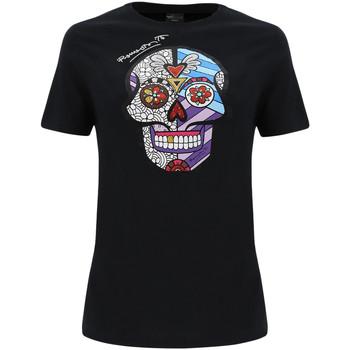 Υφασμάτινα Γυναίκα T-shirts & Μπλούζες Freddy F0WBRT2 Μαύρος