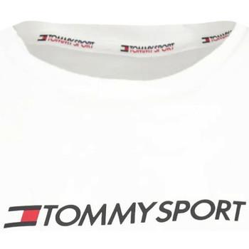 Υφασμάτινα Γυναίκα T-shirts & Μπλούζες Tommy Hilfiger S10S100445 λευκό