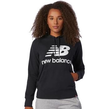 Υφασμάτινα Γυναίκα Φούτερ New Balance NBWT03550BK Μαύρος