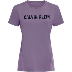 Υφασμάτινα Γυναίκα T-shirts & Μπλούζες Calvin Klein Jeans 00GWS0K195 Βιολέτα