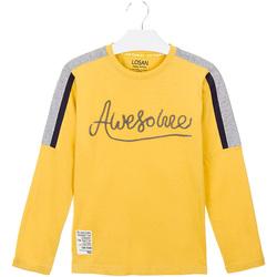 Υφασμάτινα Παιδί T-shirts & Μπλούζες Losan 023-1008AL Κίτρινος