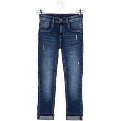 Υφασμάτινα Παιδί Jeans Losan 023-9002AL Μπλε