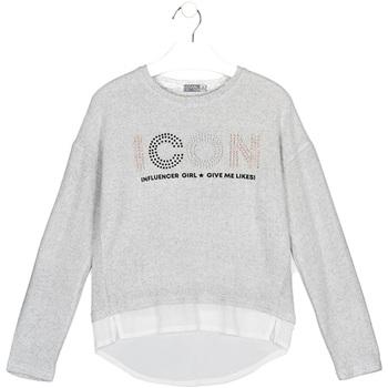 Υφασμάτινα Παιδί T-shirts & Μπλούζες Losan 024-1024AL Γκρί