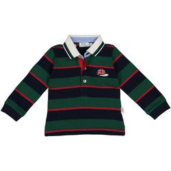 Υφασμάτινα Αγόρι Πόλο με μακριά μανίκια  Melby 20C0270 Πράσινος