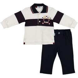 Υφασμάτινα Παιδί Κοστούμια και γραβάτες  Melby 20K0230 Μπλε