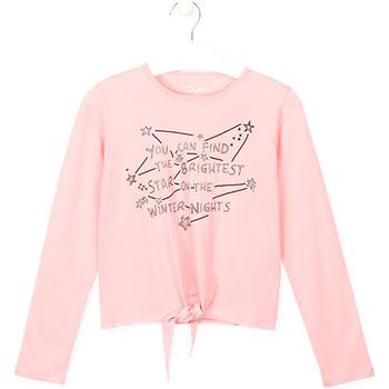Υφασμάτινα Παιδί T-shirts & Μπλούζες Losan 024-1202AL Ροζ