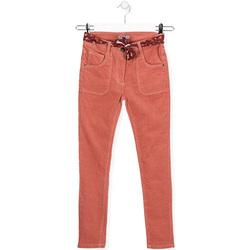 Υφασμάτινα Παιδί Skinny Τζιν  Losan 024-9005AL Ροζ