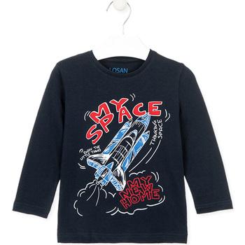 Υφασμάτινα Παιδί T-shirts & Μπλούζες Losan 025-1201AL Μπλε