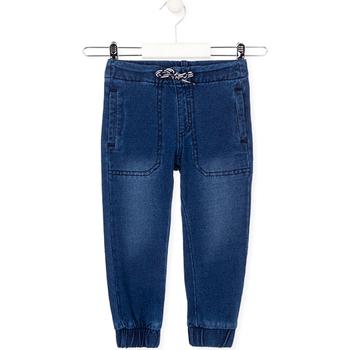 Υφασμάτινα Παιδί Jeans Losan 025-6033AL Μπλε