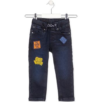 Υφασμάτινα Παιδί Jeans Losan 025-6037AL Μπλε