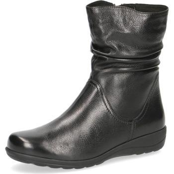 Παπούτσια Γυναίκα Μποτίνια Caprice Booties Flats Black Black