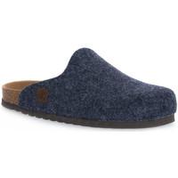 Παπούτσια Παντόφλες Bioline JEANS MERINOS Blu