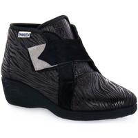 Παπούτσια Γυναίκα Ψηλά Sneakers Emanuela 2302 VOX NERO Nero