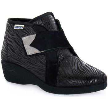 Ψηλά Sneakers Emanuela 2302 VOX NERO
