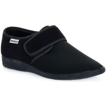 Παπούτσια Άνδρας Παντόφλες Emanuela 985 NERO PANTOFOLA Nero