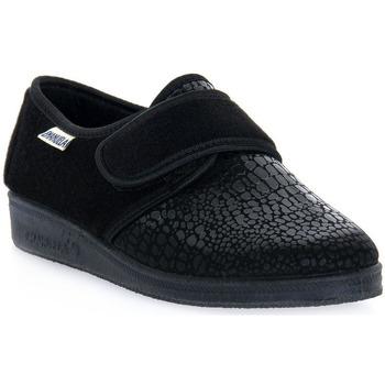 Παπούτσια Άνδρας Παντόφλες Emanuela 608 NERO PANTOFOLA Nero