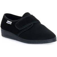 Παπούτσια Άνδρας Παντόφλες Emanuela 601 NERO PANTOFOLA Nero